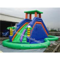Buy cheap London bridge water slide , nip slip on a water slide , inflatable water slide clearance from wholesalers