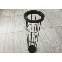 Buy cheap Light Weight Carbon Steel Filter Bag Cage , DN 125 x 6000 mm Length Baghouse Cages from wholesalers