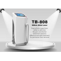 Buy cheap Painless 808nm Diode Laser Hair Removal Machine For Chest / Back / Arm from wholesalers