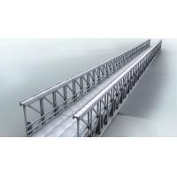 Buy cheap Delta Assembly Modular Steel Bridge Double Lane With Concrete Deck from wholesalers
