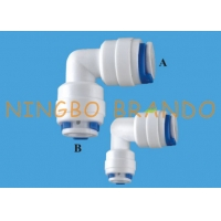 Buy cheap 1/4'' Elbow Push In Connect RO Quick Fittings For Water Filter from wholesalers
