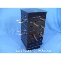 Buy cheap Custom countertop rotating necklace display case / acrylic jewelry display stand from wholesalers