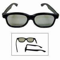 Buy cheap Circular Polarized 3D Glass with ABS and PC Frame, Available in Adults and Kids Sizes from wholesalers