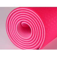 Buy cheap TPE Yoga Mat Exercise Mat TPE Eco Friendly Yoga Mat With Carry Strap Anti Slip Comfortable Exercise Mat from wholesalers