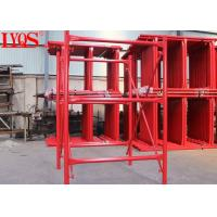 Buy cheap Quick Erection H Frame Scaffolding 6 Inch Height With Stable Shoring Capacity from wholesalers