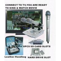 Buy cheap Super Deal Portable Karaoke Player SD/HDD Karaoke Player Mic from wholesalers