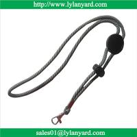 Buy cheap Wholesale Adjustable Round Woven Cord Lanyard, Durable Woven Lanyards from wholesalers