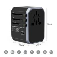 Buy cheap Electrical 	Multifunction Phone Charger  Travel International Power Adapter from wholesalers
