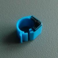 Buy cheap 134.2Khz LF RFID Animal Tags For Pigeon Light Weight Tracking Duck Leg Rings from wholesalers