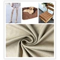Buy cheap Strong Stability Fake Suede Fabric Good Drape Property No Shrinkage Or Elongation from wholesalers