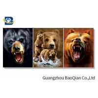 Buy cheap 3d Effect Lenticular Image / Poster With White Mdp Frame , Free Sample Cat Animal Picture from wholesalers