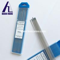 Buy cheap Arc welding rare metal material electrode tungsten electrode wt20 from wholesalers