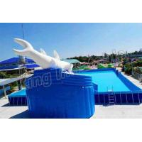 Buy cheap Commercial Inflatable Water Slide Park 0.9mm PVC Tarpaulin Blow Up Water Park from Wholesalers