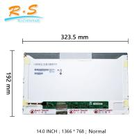 Buy cheap 14.0 Inch High Brighness HD LCD Screen Normal 40 Pin B140XW01 VC  For Dell Inspiron 1440 from wholesalers