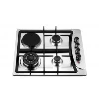 Buy cheap Four Burners Gas Oven And Hob , Gas Top Electric Oven 201 Stainless Steel Panel from wholesalers