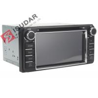 Buy cheap 6.2 Inch Digital Touch Screen Toyota DVD GPS Navigator Car Dvd Player Radio IPod product