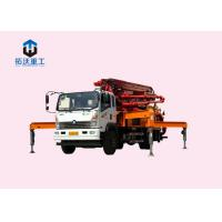 Buy cheap Mobile Building Construction Machines , Concrete Pump Truck 22600kg Weight from wholesalers