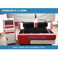 Buy cheap Red Germany IPG Fiber Laser Cutting Machine , Precision metal laser cutter from wholesalers