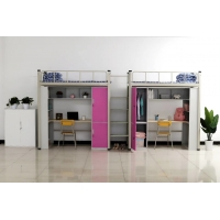 Buy cheap KEDA Width 90cm Double Bunk Beds  With Storage Cabinet from wholesalers