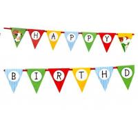 Buy cheap Birthday party favour decoration flag from wholesalers