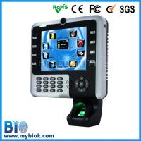 Buy cheap Multi-media Touch Screen Fingerprint Time Attendance with webserver Bio-iclock2500 from wholesalers