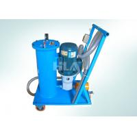 Buy cheap Hand Push Type Portable Oil Filtration Cart With Europe Brand Pump from wholesalers