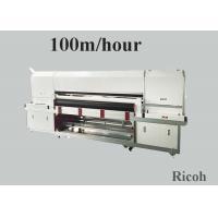 1800 mm Pigment Digital Textile Printing Machine On Clothes 8 Ricoh Gen 5