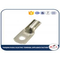 Buy cheap Copper Cable Lugs JG Series In Terminals , Non insulated Spade Copper Wire Lugs from wholesalers