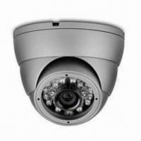 Buy cheap 650TVL IR Dome Camera with 1/3-inch Sony CCD, 3.5 to 8mm Lens, 42pcs LED and IP66 Waterproof Grade from wholesalers
