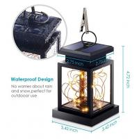 Buy cheap 7LM 1800K Hanging Solar Camping Lights / Fairy String Lights Outdoor Dusk To Dawn product