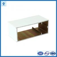 High quality white powder coated aluminum extrusion for decorations