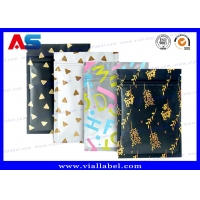 Buy cheap Custom Aluminium Foil Pouches Packages For Pills ,Food, Tea , Seeds , 10 * 15 CM Bags 8 Colors from wholesalers