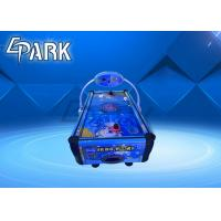 Buy cheap coin operated air hockey table puzzle children and parent game machine from wholesalers