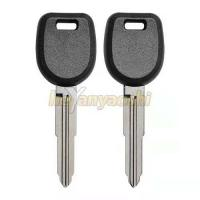 Buy cheap MIT11R Brass Blade Mitsubishi Transponder Key MIT17A-PT With 46 Chip product