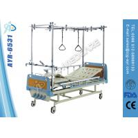 Buy cheap Hospital Orthopaedics Traction Bed , Four Function Manual Hospital Bed from wholesalers