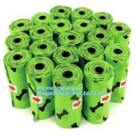 Buy cheap Cornstarch Based Biodegradable Produce Bags Eco Poop Pick Refill Rolls BPI OK Compost from wholesalers