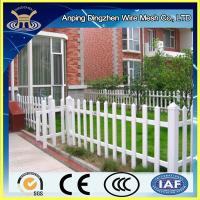 Buy cheap plastic picket fence for decoration from wholesalers
