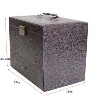 Buy cheap Decorative pattern leather Jewelry box from wholesalers