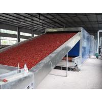 1.6 M Width Belt Conveyor Dryer Machine Blue ColorFor Food Dehydration