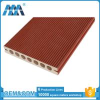 Buy cheap Eco-friendly Waterproof Hollow design WPC composite flooring tiles from wholesalers