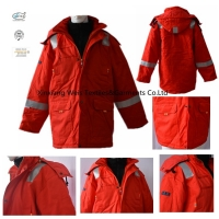 Buy cheap FR Flame Resistant Winter Jackets With Reflective Tape from wholesalers