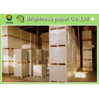 Buy cheap Smoothness Coated Board Paper Clay Coated News Back OEM Avaliable from wholesalers
