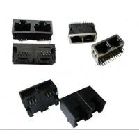 Buy cheap Vertical Entry RJ45 8P8C Modular Plugs Rj45 Connector Single Port from wholesalers