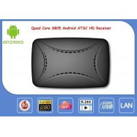 Buy cheap S805 Android Smart IPTV Box ATSC Digital ATSC Receiver Support Global Channels from wholesalers