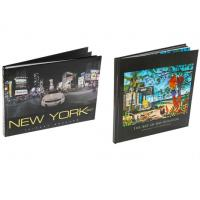 Buy cheap Fine Art Book Printing Services , Leather Bound Book Printing Square Back from wholesalers