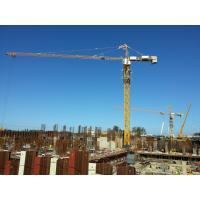 Buy cheap Safe Tower Crane Equipment With 40m Lifting Height 6T Max Lifting Load CE / ISO from wholesalers