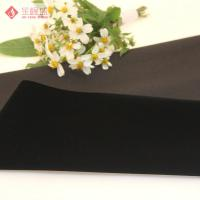 Buy cheap Crushed Flocked Velvet Fabric Weft Knitted For Jewllry / Gift Box Lining from wholesalers