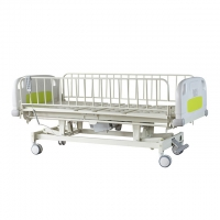 Buy cheap ABS Hook ACP Pediatric Hospital Bed With Infusion Pole from wholesalers
