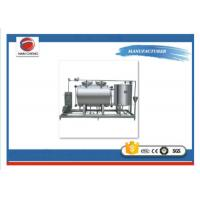 Buy cheap Electric Heating CIP Sip Process Equipment , Aseptic Clean In Place System In Food Industry from wholesalers