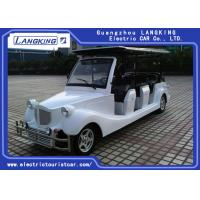 Buy cheap Electric Powered 11 Person Classic Car Golf Carts With Cool Style Accessories Cover from wholesalers